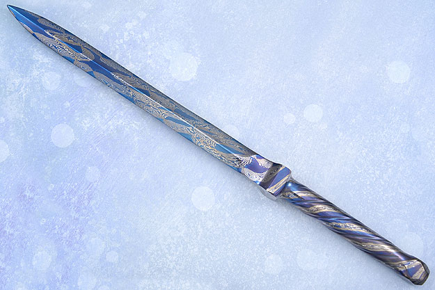 Blued Integral Dagger