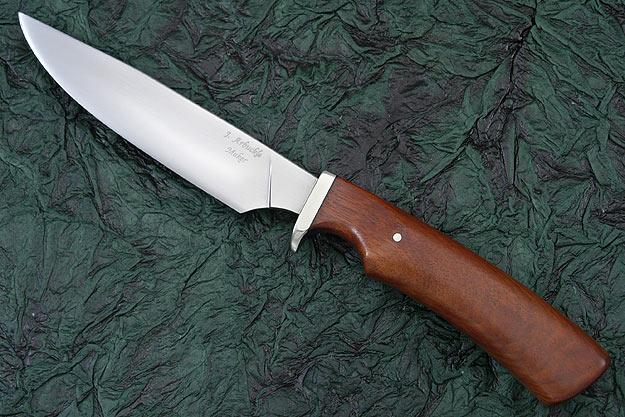 Bloodwood Hunter<br>Journeyman Smith Test Knife
