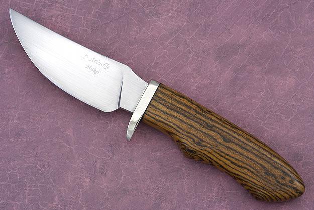 Bocote Skinner<br>Journeyman Smith Test Knife