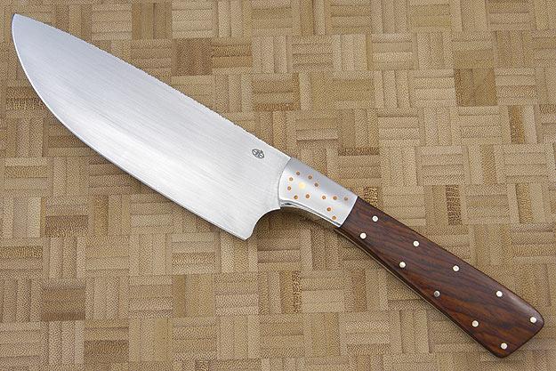 Veteran Chef Knife with Desert Ironwood (6 in)