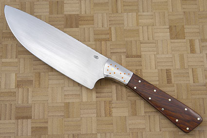 Veteran Chef Knife with Desert Ironwood (6 in)