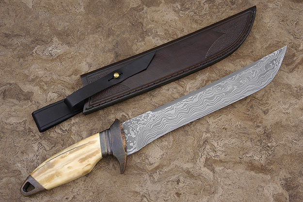 Damascus and Walrus Recurve Fighter
