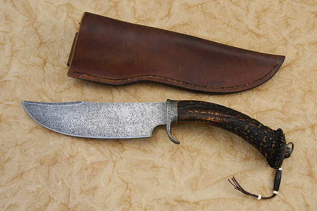 Clip Point Crown Stag Skinner