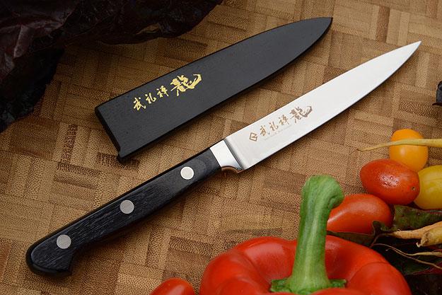 Bu-Rei-Zen (Blazen) Paring Knife - Petty Knife - 4 in. (110mm)