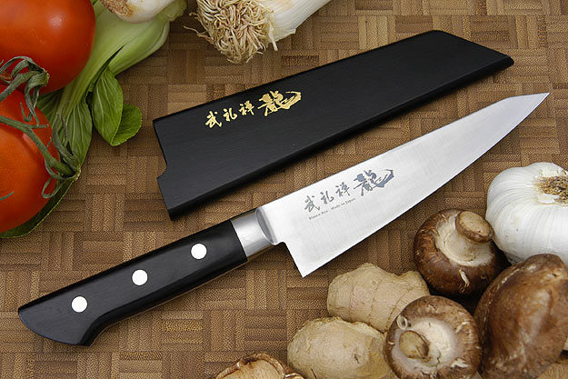 Bu-Rei-Zen (Blazen) Utility/Boning Knife - Honesuki - 6 in. (150mm)
