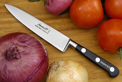 Sabatier Chef's Knife - 6 in. (Carbon Steel)