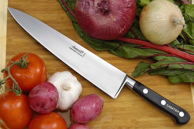 Sabatier Chef's Knife - 10 in. (Carbon Steel)