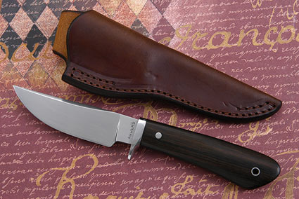 African Blackwood Clip Point Hunter