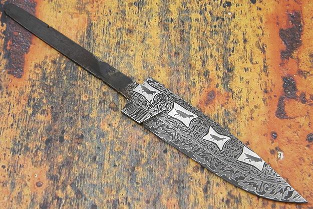 Mosaic T-Rex Drop Point Blade