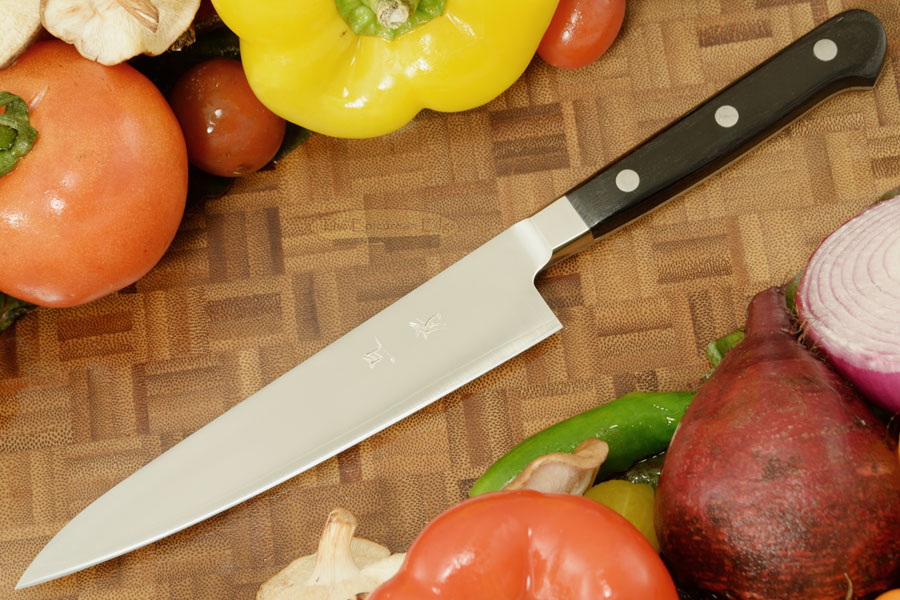 Akifusa Utility Knife - Petit Gyuto - 5 3/4 in. (150mm)