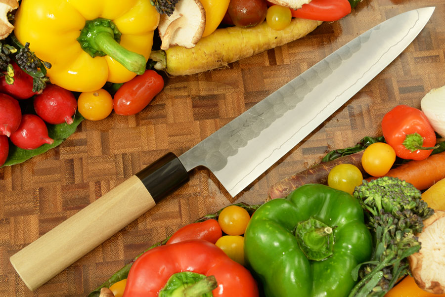 Hammer Finished Chef's Knife - Gyuto, Traditional - 8 1/2 in. (210mm)