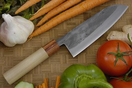 Nashiji Chef's Knife (Santoku) - 6 3/4 in. (170mm)