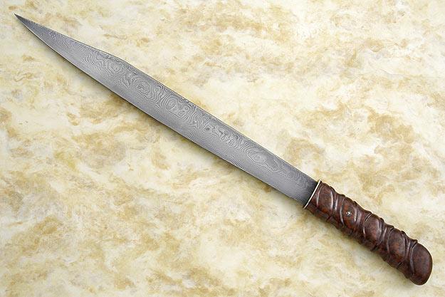 Seax Inspired Slicing Knife
