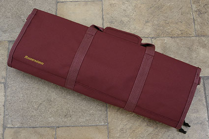 12 Pocket Knife Roll, Burgundy (2066-12/BU)