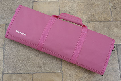 12 Pocket Knife Roll, Pink (2066-12/P)
