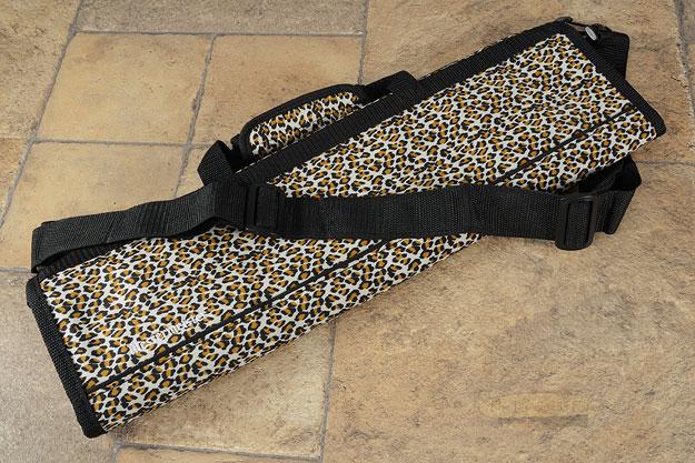 8 Pocket Knife Roll, Leopard (2066-8/L)