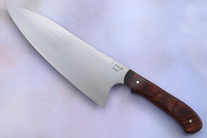 Deep Belly Chef Knife with DymondWood (8 3/4 inches)