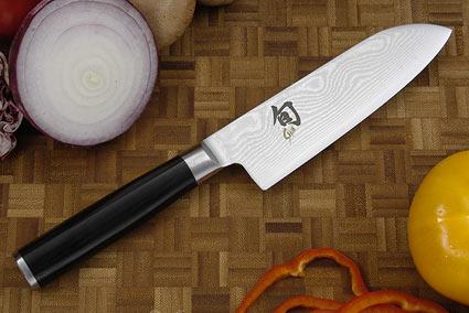 Shun Classic Santoku Knife - 5 1/2 in. (DM0727)