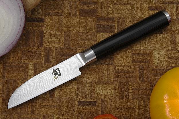 Shun Classic Vegetable  Knife - 3 1/2 in. - Left Handed (DM0714L)