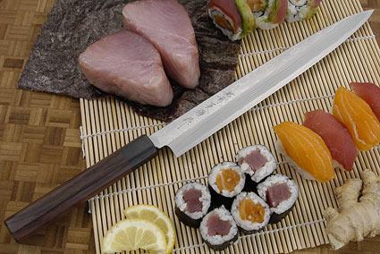 Suminagashi Yanagiba, 270mm (10 2/3 in)