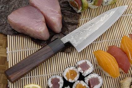 Suminagashi Funayuki, 165mm (6 1/2 in)