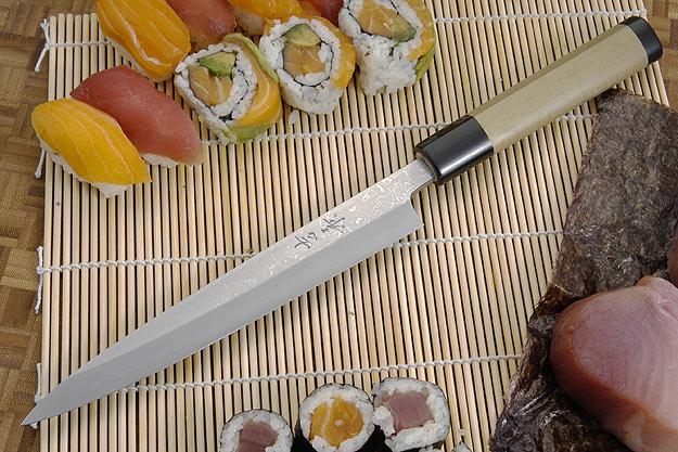 Suminagashi Left-Handed Yanagiba (Sashimi Knife) - 210mm (8 1/4 in.)