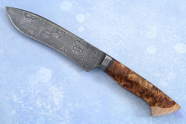 Carbon River Damascus Fighter