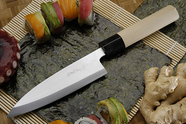 Tadafusa Shirogami Professional Left-Handed Mioroshi - 6 1/2 in. (165mm)