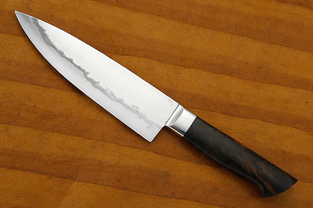 Chef's Knife with Western Walnut (7 1/8