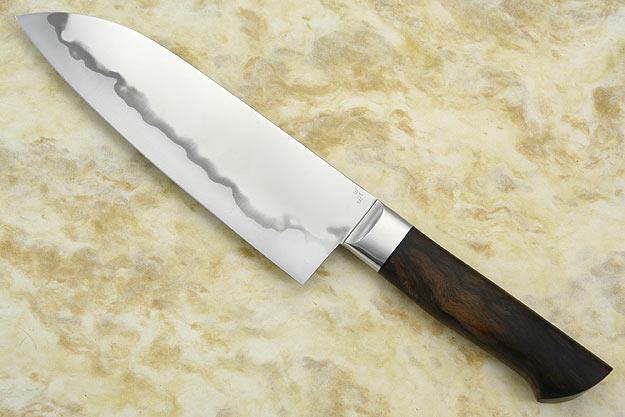 Chef's Knife (Santoku) with Western Walnut (7 1/4