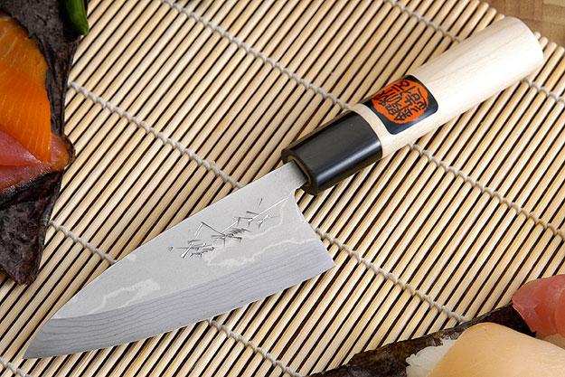 Suminagashi Ajikiri - 105mm (4 1/8 in.) - Left Handed