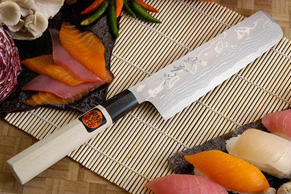 Suminagashi Usuba - 180mm (7 1/8 in.)