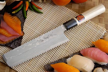 Suminagashi Usuba - 180mm (7 1/8 in.) - Left Handed