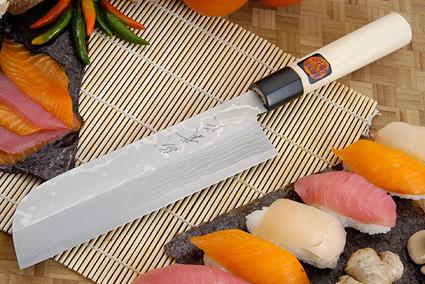 Suminagashi Kamagata Usuba - 210mm (8 1/4 in.) - Left Handed
