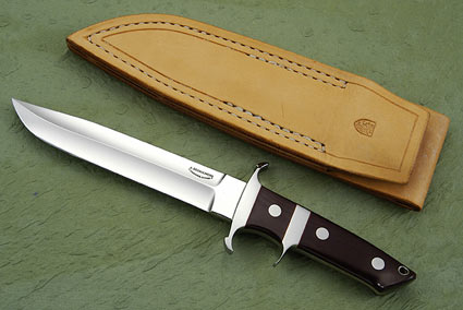 Sub Hilt Fighter with Maroon Micarta