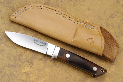Drop Point Ironwood Hunter