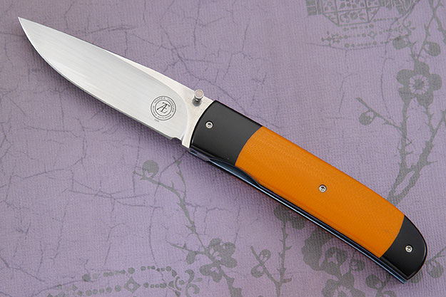 L18 with Black Micarta and Orange G10