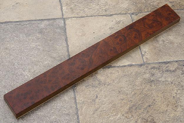 Amboyna Burl Magnetic Knife Strip (16