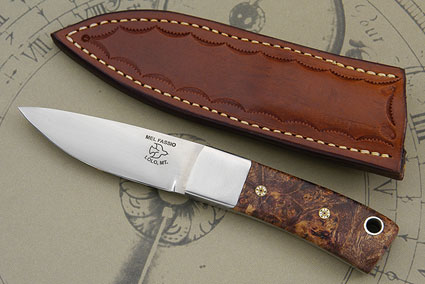Maple Burl Utility Knife