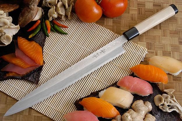 Suminagashi Left-Handed Yanagiba (Sashimi Knife) - 300mm (11.8 in.)