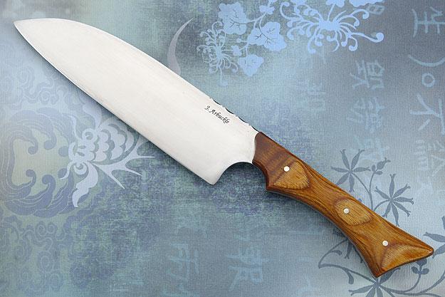Santoku (Chef's Knife) with DymondWood (6 3/4 inches)