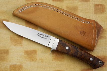 Drop Point Ironwood Hunter