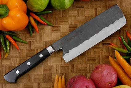 Denka no Hoto Chefs Knife - Nakiri, Western - 165mm (6 1/2 in.)