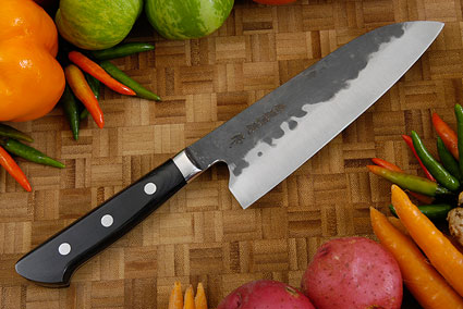 Denka no Hoto Chefs Knife - Santoku, Western - 165mm (6 1/2 in.)