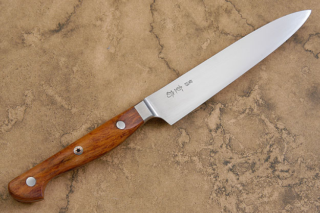 Western Slicing Knife/Petit Gyuto with Sheoak Burl - 150mm (6 in)
