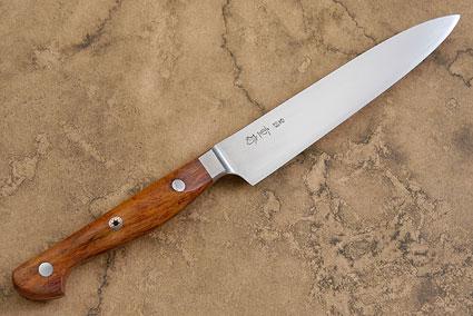Western Slicing Knife/Petit Gyuto with Sheoak Burl - 150mm (6 in)