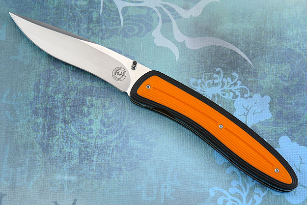 M4 with 3D Black and Orange G10