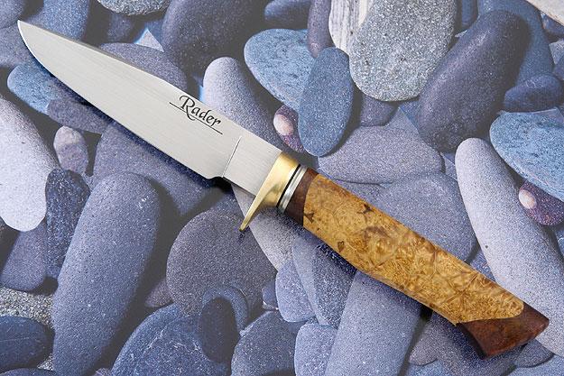 Box Elder and Koa Utility<br>Mastersmith Test Knife