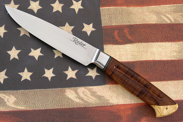 Carbon River Utility with Koa and Box Elder<br>Mastersmith Test Knife