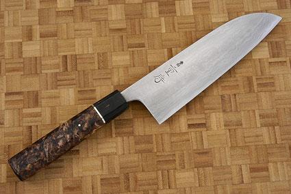 Chef's Knife (Santoku), Suminagashi - 180mm (7 1/8 in.)